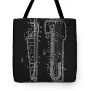 1906 Roller Coaster Patent Tote Bag