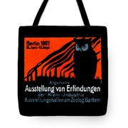 1907 Berlin Exposition Poster Tote Bag