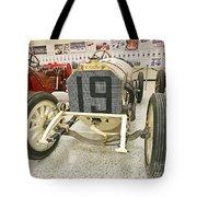 1908 Mercedes Race Car Tote Bag