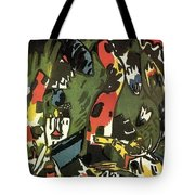 1909 Vasily Kandinsky Tote Bag