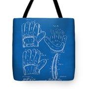 1910 Baseball Glove Patent Artwork Blueprint Tote Bag