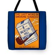 1910 Beacon Hill Pipe Tobacco Tote Bag