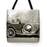 1910 Pope Hartford T Black And White Tote Bag