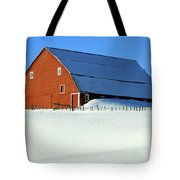 1912 Finnish Barn Valley County Tote Bag