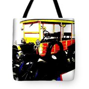 1912 Ford Model T Taxi Tote Bag