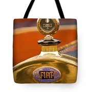 1913 Fiat Type 56 7 Passenger Touring Hood Ornament Tote Bag