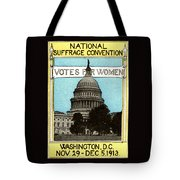 1913 Votes For Women Tote Bag