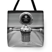 1913 White Gentlemans's Roadster Hood Ornament 2 Tote Bag