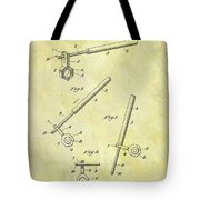 1913 Wrench Patent Tote Bag