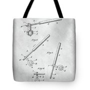 1913 Wrench Patent Illustration Tote Bag