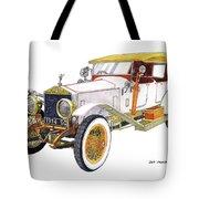 1914 Rolls Royce Silver Ghost Tote Bag