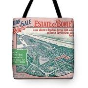 1915 Bronx Lots Sale Flyer Tote Bag