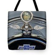 1915 Chevrolet Touring Hood Ornament 2 Tote Bag