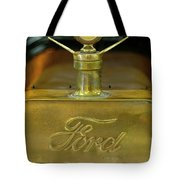 1915 Ford Depot Hack Hood Ornament 3 Tote Bag