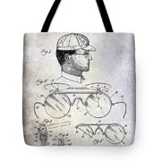 1916 Sunglasses Patent Tote Bag