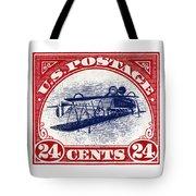 1918 Inverted Jenny Stamp Tote Bag