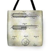 1920 Paring Knife Patent Tote Bag