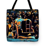 1920's Racing Car Tote Bag