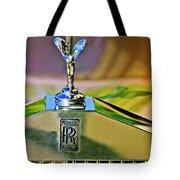 1921 Rolls-royce Silver Ghost Phaeton Hood Ornament Tote Bag