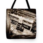 1924 Hispano-suiza H6b Dual  Cowl Sport Phaeton Engine Emblem -0258s Tote Bag