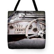 1925 Aston Martin 16 Valve Twin Cam Grand Prix Steering Wheel -0790ac Tote Bag