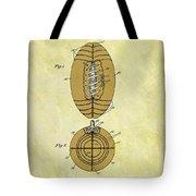 1925 Football Patent Tote Bag