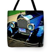 1927 Blue Buick Tote Bag