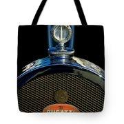 1927 Bugatti Replica Hood Ornament Tote Bag by Jill Reger