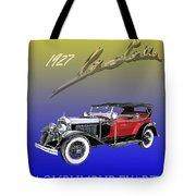 1927 Lasalle Tote Bag