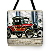 1927 Model T Ford Roadster Tote Bag