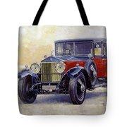 1927 Rolls-royce 40-50 Phantom 1  Tote Bag