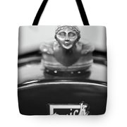 1928 Buick Custom Speedster Hood Ornament 4 Tote Bag
