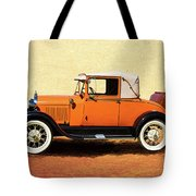 1928 Classic Ford Model A Roadster Tote Bag