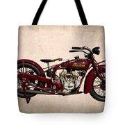 1928 Indian Motorcycle Tote Bag