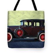 Historical Ford 4 Door Sedan Tote Bag