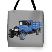 1929 Blue Chevy Truck 1 Ton Stake Body Tote Bag