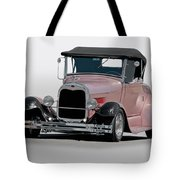 1929 Ford 'champagne Blush' Roadster Tote Bag