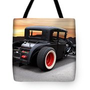 1929 Ford 'rock N Roll' Coupe Tote Bag