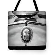 1929 Graham-paige Sport Roadster Emblem -0810bw Tote Bag