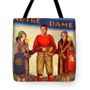 1929 Notre Dame Versus Southerncal Tote Bag