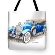 1929 Packard Dual Cowl Phaeton Tote Bag