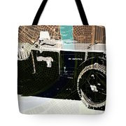 1930 Bentley 4.5 Litre Over New Orleans Old Map Tote Bag