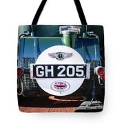 1930 Bentley Speed Six Taillights -0277c Tote Bag
