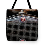 1930 Cadillac Roadster Hood Ornament 3 Tote Bag by Jill Reger