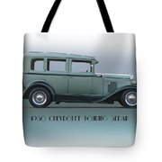 1930 Chevrolet Touring Sedan Tote Bag