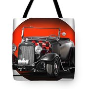 1930 Ford 'red Ball Express' II Tote Bag