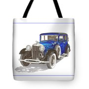 1930 Lincoln L Berline Tote Bag