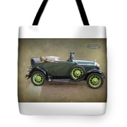 1930 Model A Ford Cabriolet Tote Bag