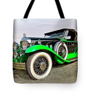 1930 Willys Knight 66b-plaidside Tote Bag