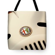 1931 Alfa Romeo 6c 1750 Gran Sport Aprile Spider Corsa Hood Emblem Tote Bag